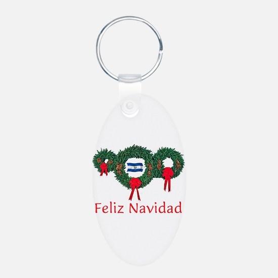 El Salvador Christmas 2 Keychains