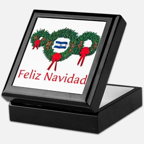 El Salvador Christmas 2 Keepsake Box