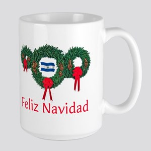 El Salvador Christmas 2 Large Mug