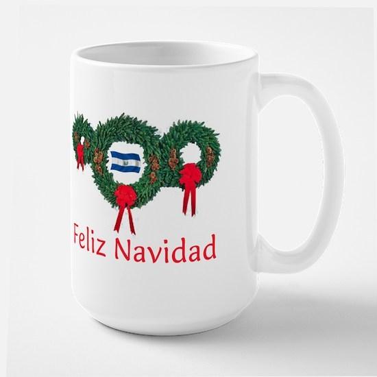 El Salvador Christmas 2 Large Mug