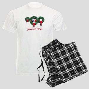 France Christmas 2 Men's Light Pajamas