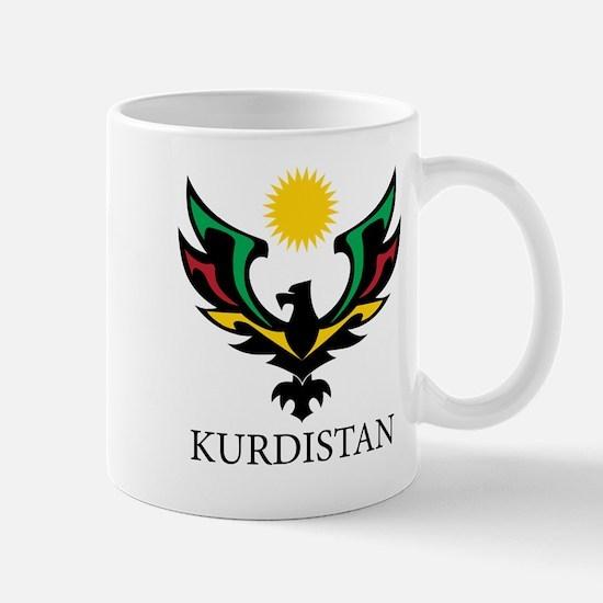 Kurdistan Eagle big Mugs