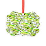School of Mahi (Dorado, Dolphin) Fish Picture Orna