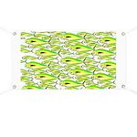 School of Mahi (Dorado, Dolphin) Fish Banner