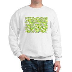 School of Mahi (Dorado, Dolphin) Fish Sweatshirt