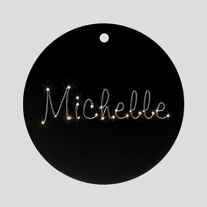 Michelle Spark Ornament (Round)