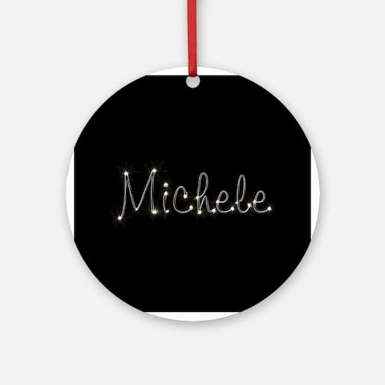 Michele Spark Ornament (Round)