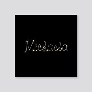 "Michaela Spark Square Sticker 3"" x 3"""