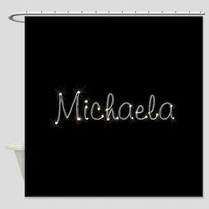 Michaela Spark Shower Curtain