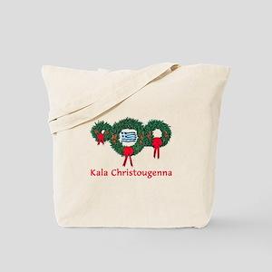 Greece Christmas 2 Tote Bag