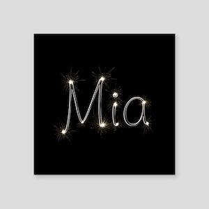 """Mia Spark Square Sticker 3"""" x 3"""""""