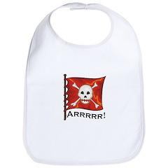 Arrrr Pirate Flag Bib