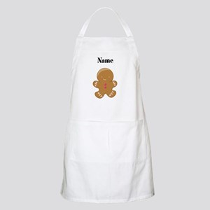 Personalized Gingerbread Man Apron