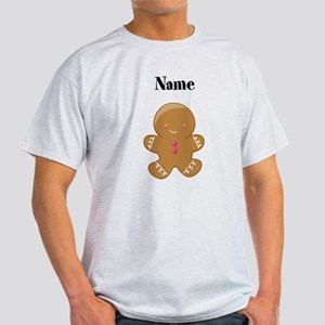 Personalized Gingerbread Man Shirt