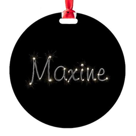 Maxine Spark Round Ornament