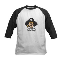 Pirates Do it For the Booty Kids Baseball Jersey
