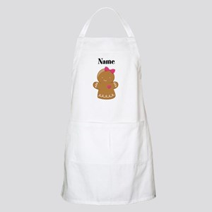 Personalized Gingerbread Girl Apron