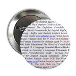 """Gill's Titles 2.25"""" Button (10 pack)"""
