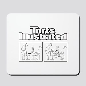 Torts Illustrated Mousepad
