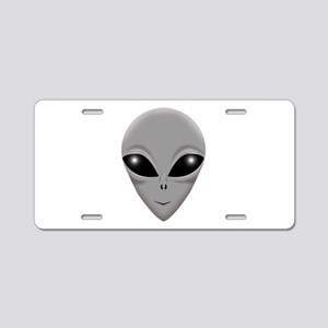 alien copy Aluminum License Plate