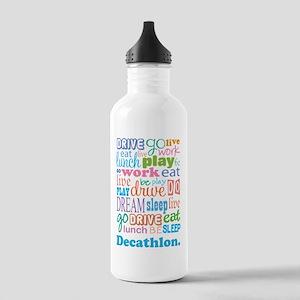 Decathlon Stainless Water Bottle 1.0L