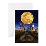 Halloween Greeting Cards 10 PK