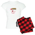 Love My Logger Women's Light Pajamas