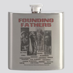 Native American, First Nations Founders Flask