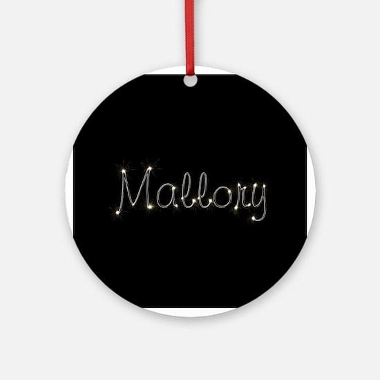 Mallory Spark Ornament (Round)