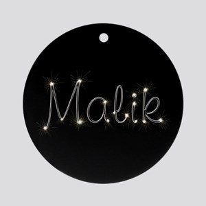 Malik Spark Ornament (Round)