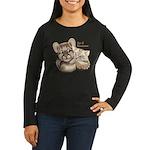 Age of Innocence Women's Long Sleeve Dark T-Shirt