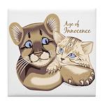 Age of Innocence Tile Coaster
