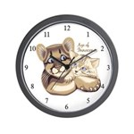 Age of Innocence Wall Clock