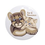 Age of Innocence Ornament (Round)