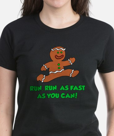 Run As Fast As You Can Women's Dark T-Shirt