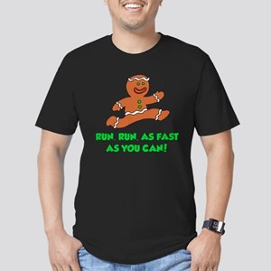 Run As Fast As You Can Men's Fitted T-Shirt (dark)