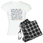 School of Sharks 1 Women's Light Pajamas