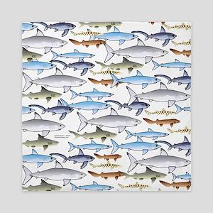 School of Sharks 1 Queen Duvet