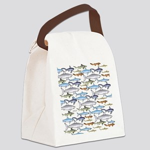 School of Sharks 1 Canvas Lunch Bag