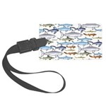 School of Sharks 1 Large Luggage Tag