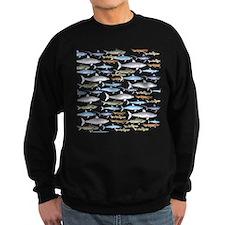 School of Sharks 1 Sweatshirt (dark)