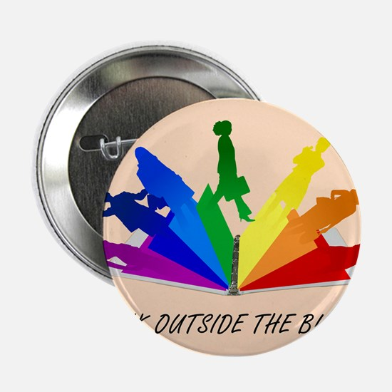 """Think Outside the Binder - Original 2.25"""" Button"""