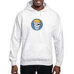 Colored Pirate Skull Hooded Sweatshirt
