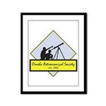 OAS logo Framed Panel Print