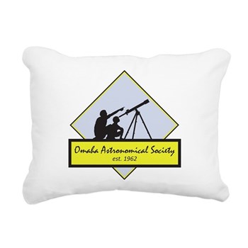 OAS logo Rectangular Canvas Pillow