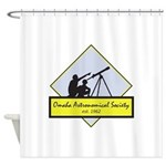 OAS logo Shower Curtain