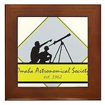 OAS logo Framed Tile