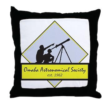 OAS logo Throw Pillow