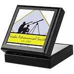 OAS logo Keepsake Box