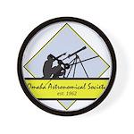 OAS logo Wall Clock